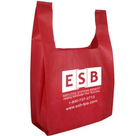 Non Woven Lite Grocery Bag Printed with Your Logo