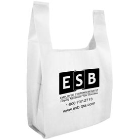 Non Woven Lite Grocery Bag with Your Slogan