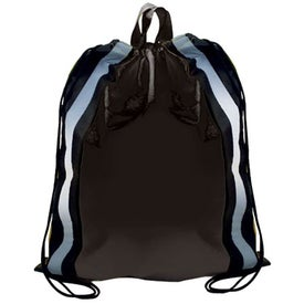 Personalized Non-Woven Reflective Drawstring Backpack