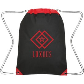 Non-Woven Roanoke Drawstring Bag