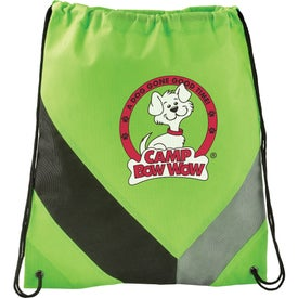 Non-Woven Slant Drawstring Sports Pack