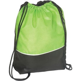 Promotional Non-Woven Textured String Backpack - 80GSM