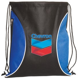 Customized Non-Woven Zip-Side Backpack - 80GSM