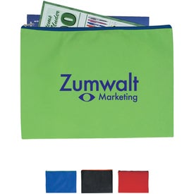 Non-woven Document Sleeve with Zipper for your School