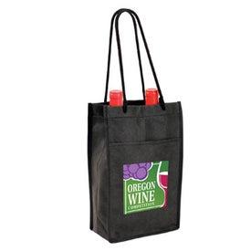 Non Woven Double Bottle Wine Bag