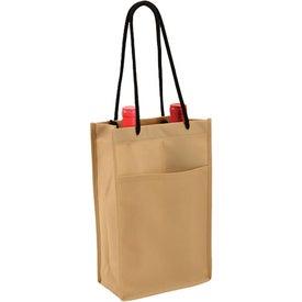 Company Non Woven Double Bottle Wine Bag