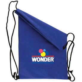 Non Woven Draw String Backpack with Your Slogan