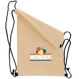 Non Woven Draw String Backpack Giveaways
