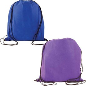 Water Resistant Non Woven Drawstring Backpack for Your Church