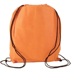 Printed Water Resistant Non Woven Drawstring Backpack