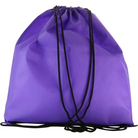 Water Resistant Non Woven Drawstring Backpacks