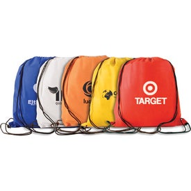 Water Resistant Non Woven Drawstring Backpack with Your Logo