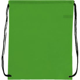 Non-Woven Drawstring Backpack for Promotion