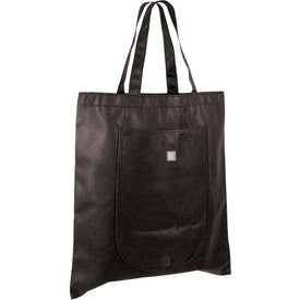 Promotional Non Woven Fold and Go Tote Bag