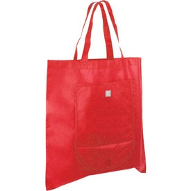 Non Woven Fold and Go Tote Bag for Promotion