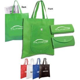 Logo Non Woven Fold and Go Tote Bag