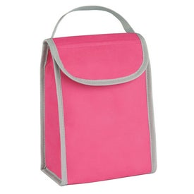 Personalized Non Woven Folding Identification Lunch Bag
