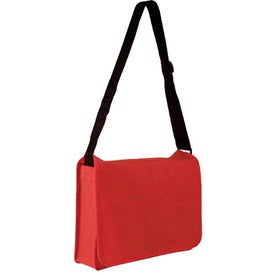 Non-Woven Messenger Bag for Advertising