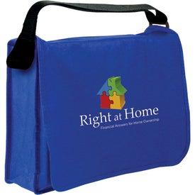 Monogrammed Non-Woven Messenger Bag