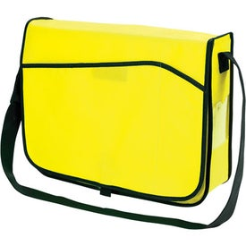 Personalized Non-Woven Messenger Bag