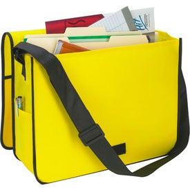 Promotional Non-Woven Messenger Bag