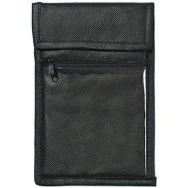 Customized Non Woven Neck Wallet Badge Holder