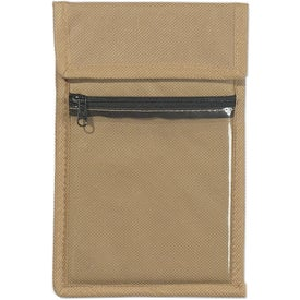 Non Woven Neck Wallet Badge Holder Giveaways