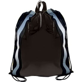 Reflective Drawstring Backpack for Customization