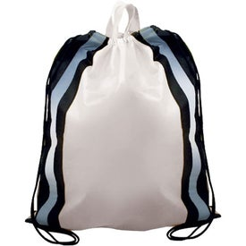 Reflective Drawstring Backpack for Your Organization