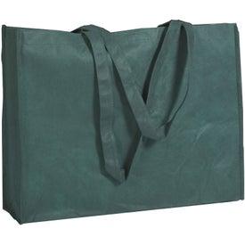 Personalized Non-woven Shopper Tote with Velcro Closure