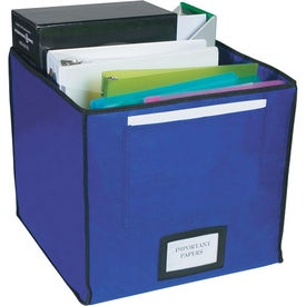 Advertising Non-woven Storage Bin