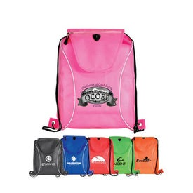 Non Woven V Sport Drawstring Backpack