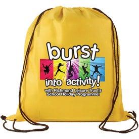 Company Non-Woven Drawstring Backpack