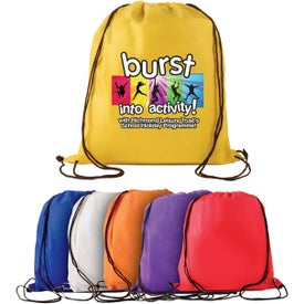 "Non-Woven Drawstring Backpack (15"" x 16"")"