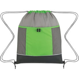 Promotional Nova Drawstring Backpack