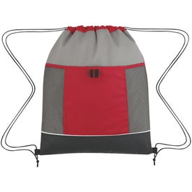 Printed Nova Drawstring Backpack