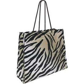 Custom Non Woven Laminate Swanky Shopper Bag