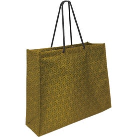 Non Woven Laminate Swanky Shopper Bag for Advertising