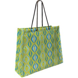 Non Woven Laminate Swanky Shopper Bag with Your Slogan