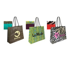 Non Woven Laminate Swanky Shopper Bag