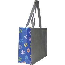 Monogrammed Non Woven Motif Carryall Bag