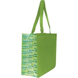 Non Woven Motif Carryall Bag for Your Organization
