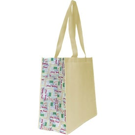 Non Woven Motif Carryall Bag with Your Slogan