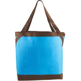 Logo Non Woven Sail Away Carryall Bag
