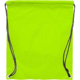 Monogrammed Polyester Backpack
