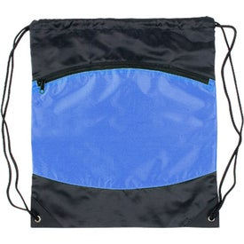 Nylon Backpack with Zipper Pocket with Your Logo