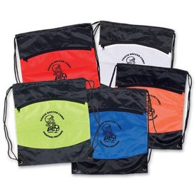 Nylon Backpack with Zipper Pocket