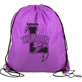 Polyester Drawstring Back Pack for Your Church