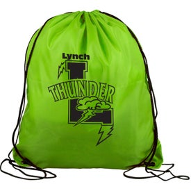 Printed Polyester Drawstring Back Pack