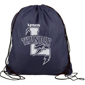 Polyester Drawstring Back Pack for Advertising